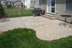 Bomanite Imprint System with Bomacron Textured and Pattern Imprinted Concrete by Stephens and Smith Construction.