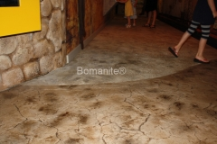 Bomanite Concrete Imprint Systems with Dried Earth Texture