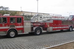 Bomainte Grasscrete Concrete Los Angeles Fire Department